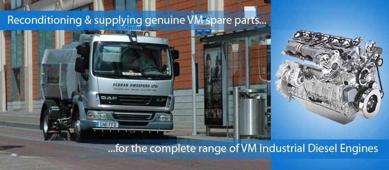 VM Industrial Diesel Engines