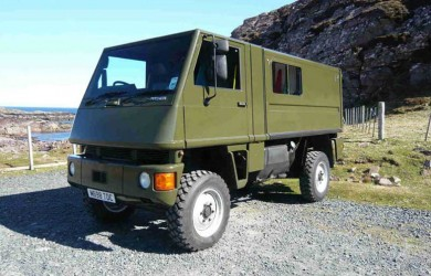 Bucher Military Vehicle